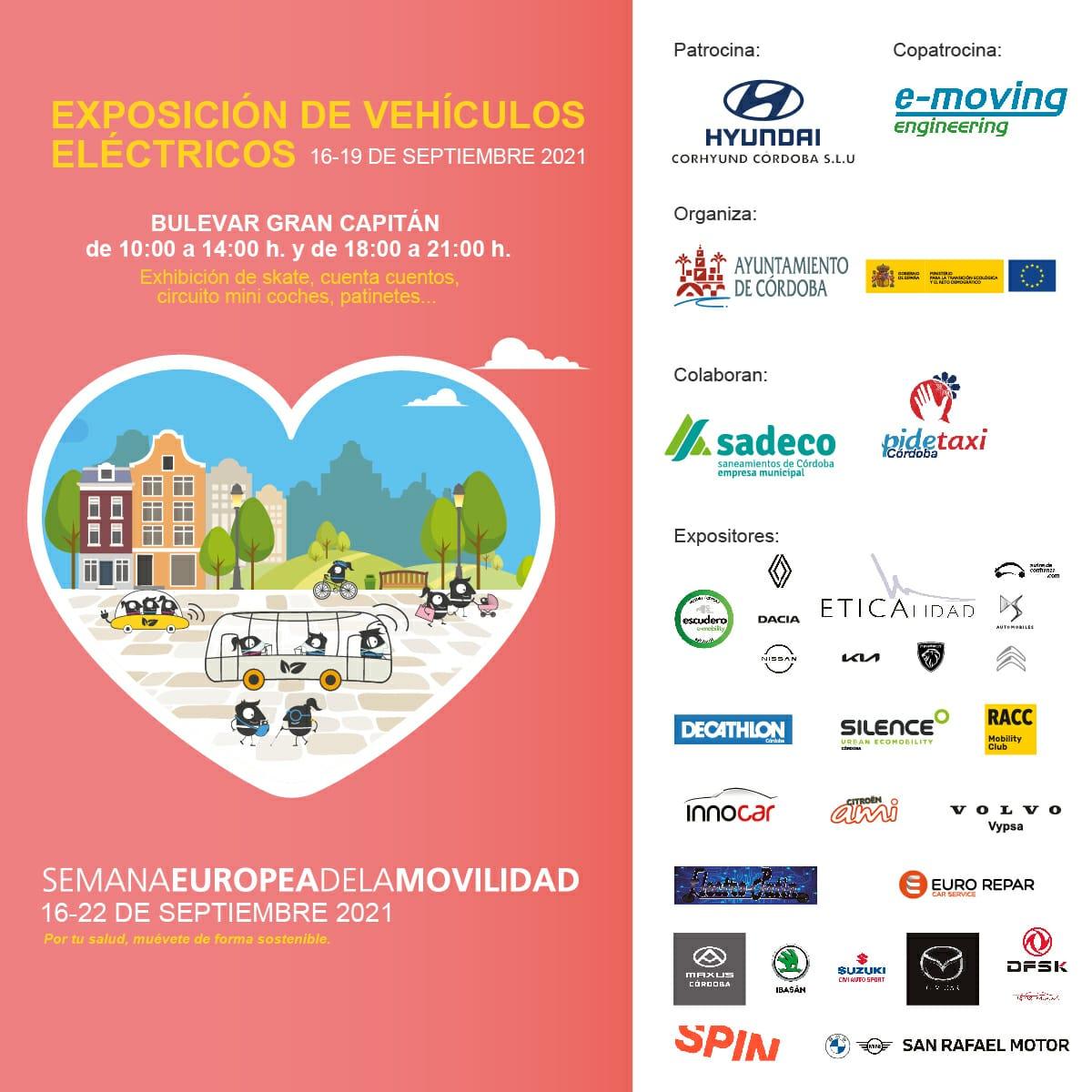 E-moving copatrocinador en la semana europea de la movilidad de Córdoba